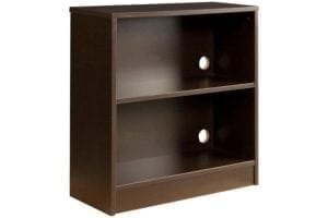 Greenfield Bookcase in Midnight Espresso