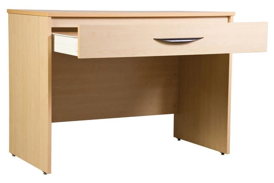 Greenfield Writing Desk Open Drawer