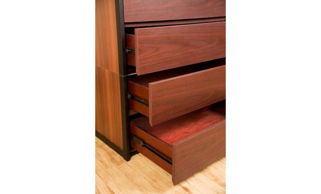 Uptown 4 Drawer Unstackable Chest Drawers