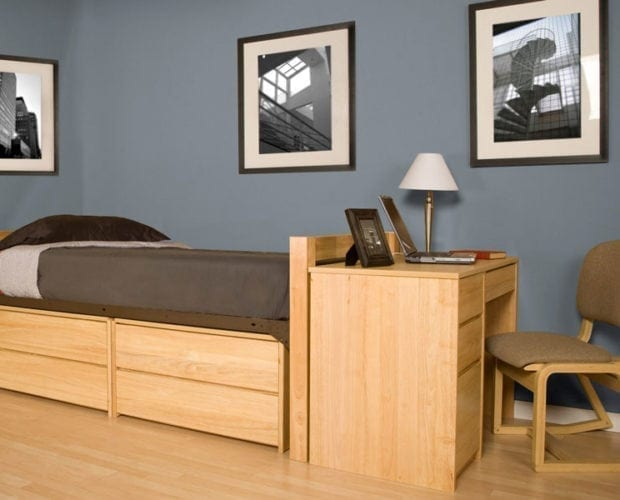 Enlisted Twin Bed