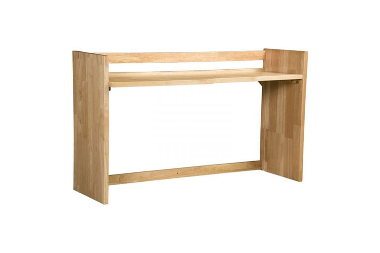 Solid Wood Desk Carrel